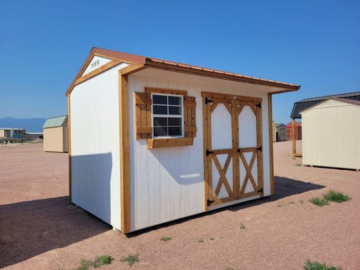 8x12 Tackroom Style Shed 5