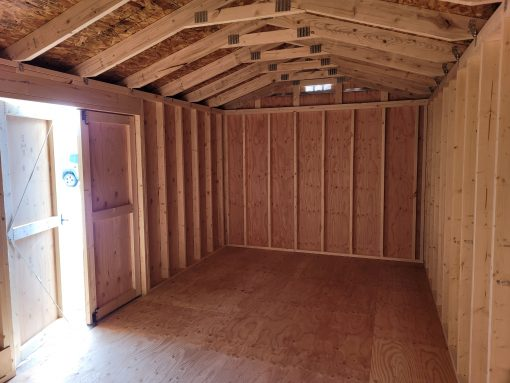10x20 Gable Style Shed 6