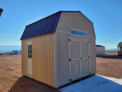 12x12 Barn Style Shed 8