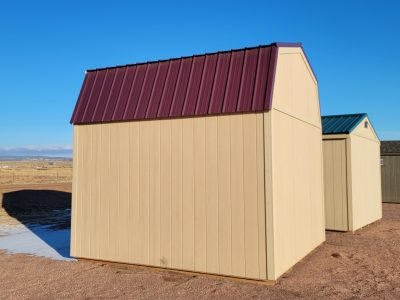 12x12 Barn Style Shed 9