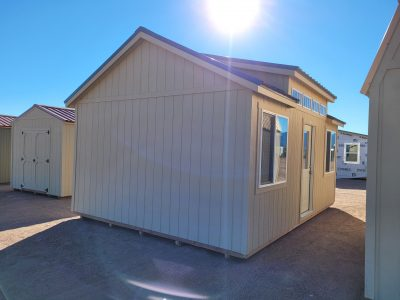 14x20 Studio Gable Style Shed 9