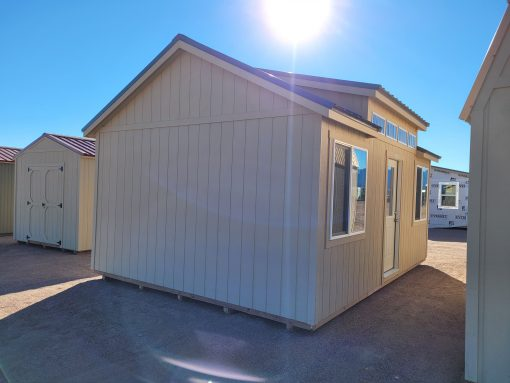 14x20 Studio Gable Style Shed 2