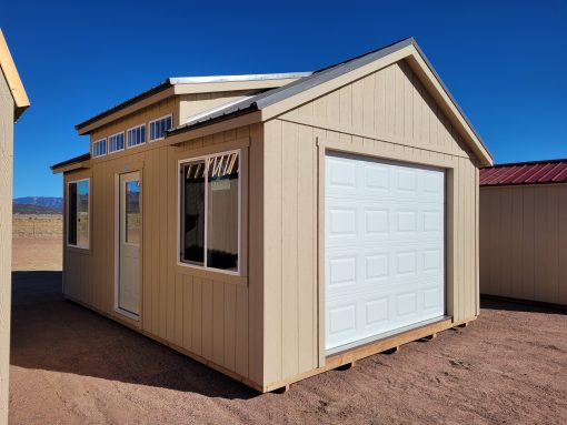 14x20 Studio Gable Style Shed 1