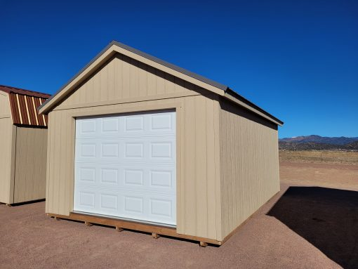 14x20 Studio Gable Style Shed 4