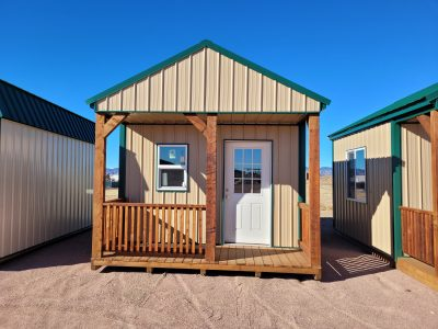 12x16 Gable Style Shed with Porch 10