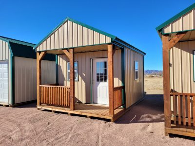 12x16 Gable Style Shed with Porch 12