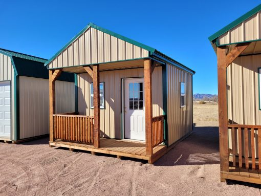 12x16 Gable Style Shed with Porch 4