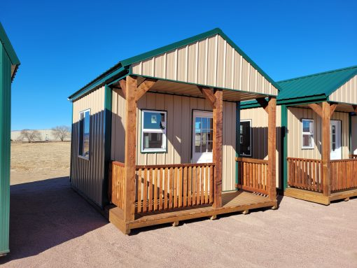 12x16 Gable Style Shed with Porch 1