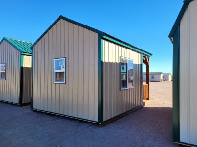 12x16 Gable Style Shed with Porch 14