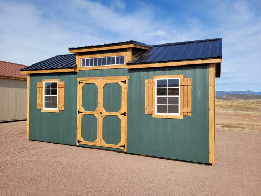 10x20 Studio Gable Style Shed 4