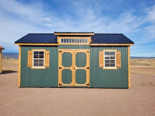 10x20 Studio Gable Style Shed 2
