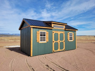 10x20 Studio Gable Style Shed 10