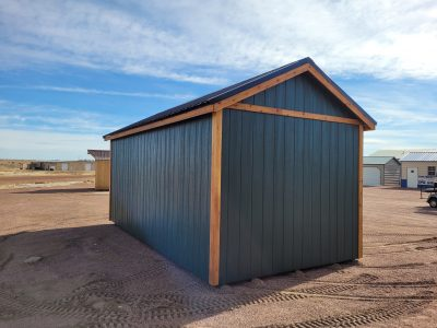 10x20 Studio Gable Style Shed 13