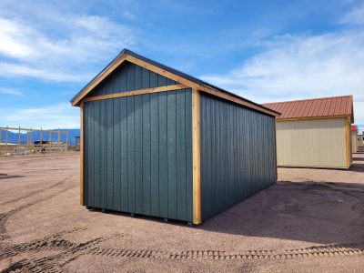 10x20 Studio Gable Style Shed 12