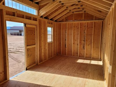 10x20 Studio Gable Style Shed 15