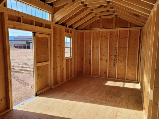 10x20 Studio Gable Style Shed 8