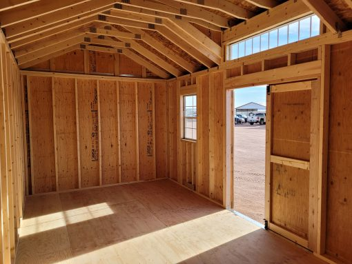 10x20 Studio Gable Style Shed 7