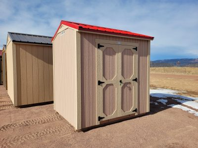 6x8 Gable Style Shed 10