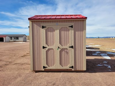 6x8 Gable Style Shed 9