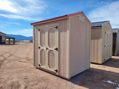 6x8 Gable Style Shed 11