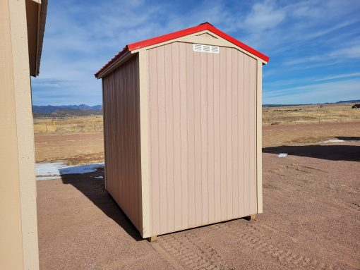 6x8 Gable Style Shed 5