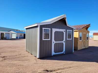 12x10 Western Style Shed 10