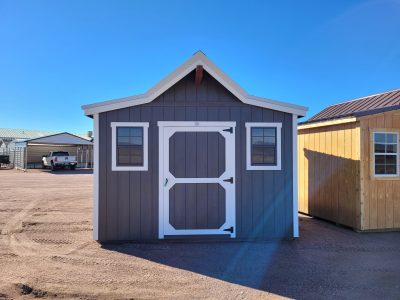12x10 Western Style Shed 9