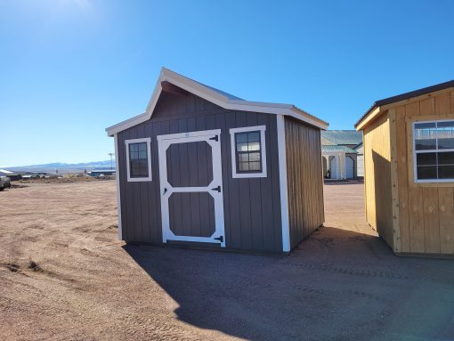 12x10 Western Style Shed 2