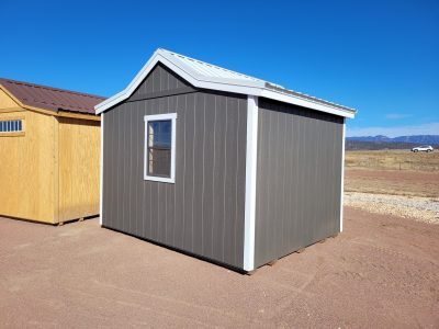 12x10 Western Style Shed 11