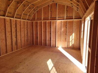 14x20  Barn Style Shed 12