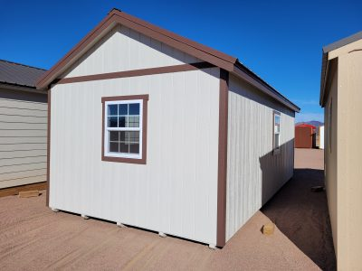12x24 Gable Style Shed w/Porch 13