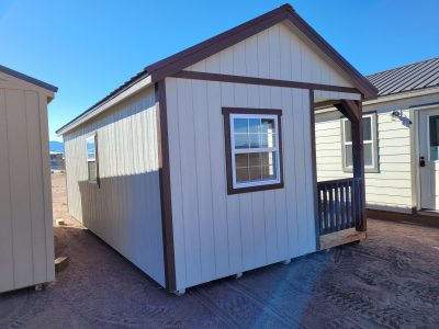 12x24 Gable Style Shed w/Porch 12