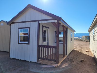 12x24 Gable Style Shed w/Porch 11