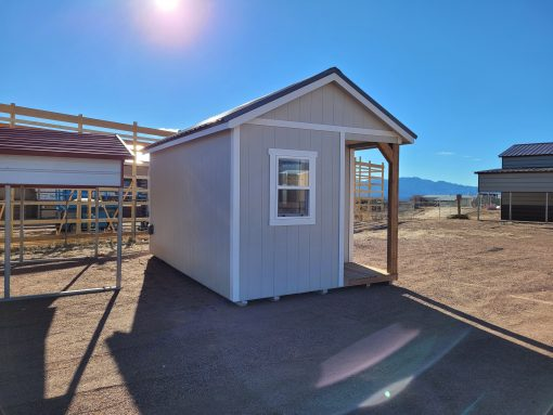 10x16 Gable Style Shed w/Porch (Interior Finish) 5