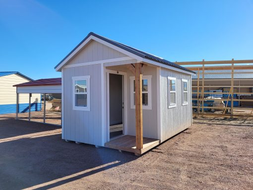 10x16 Gable Style Shed w/Porch (Interior Finish) 1