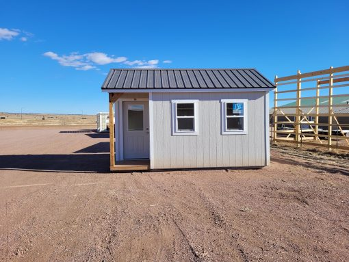 10x16 Gable Style Shed w/Porch (Interior Finish) 3