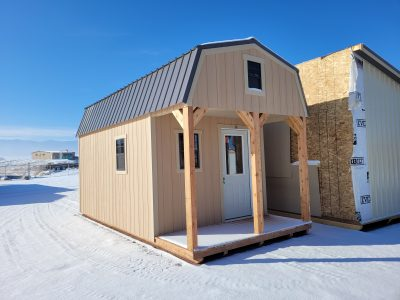 10x20 Barn with Porch 8