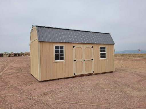 10x20 Barn Style Shed 1