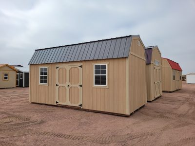 10x20 Barn Style Shed 12