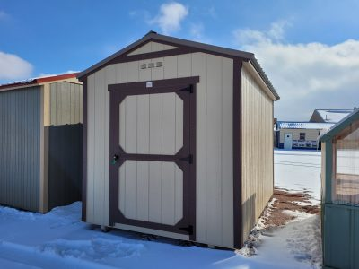8x12 Gable Style Shed 9