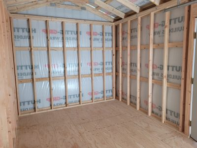 10x16 Gable Style Shed 13