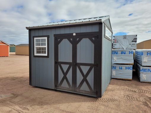 8x10 Gable Style Shed 1