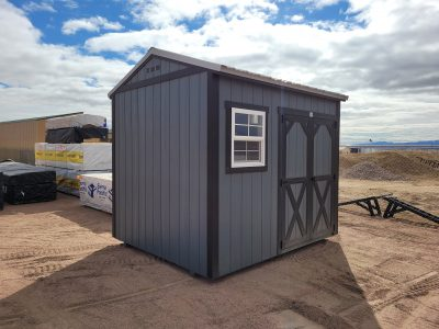 8x10 Gable Style Shed 17
