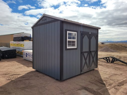 8x10 Gable Style Shed 8