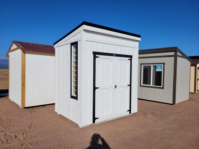 6x8 Urban Style Shed 13