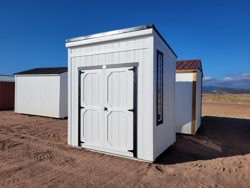 6x8 Urban Style Shed 1