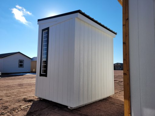 6x8 Urban Style Shed 7