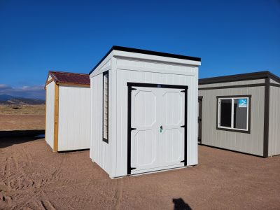 6x8 Urban Style Shed 11