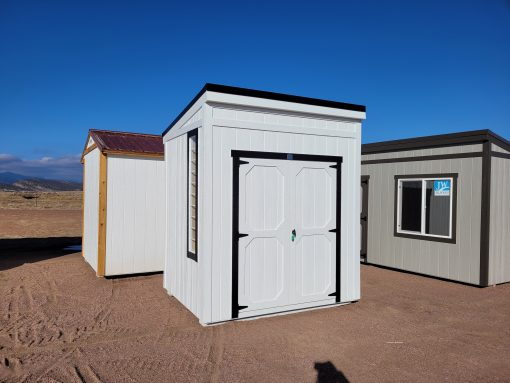 6x8 Urban Style Shed 4