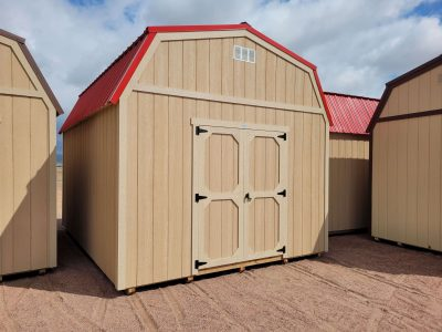 12x16 Barn Style Shed 10
